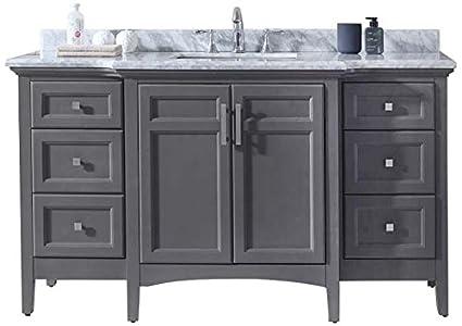 Ari Kitchen And Bath Luz Single Bathroom Vanity Set Akb Luz 60 Mpgr