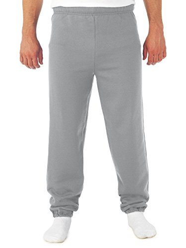 Jerzees 8 oz Sweatpant (973M) No Pockets Available in 10 Colors - Oxford 973M 3XL
