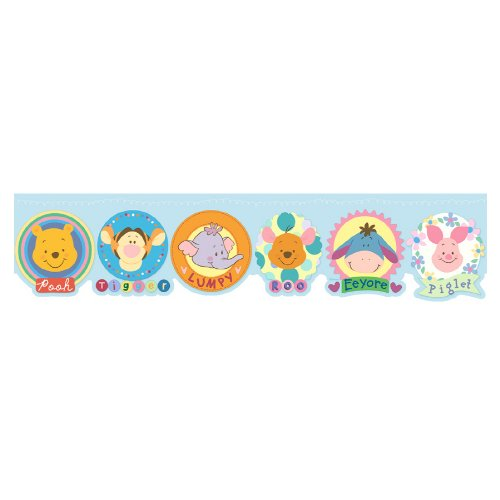 IMPERIAL Winnie The Pooh and Friends Wallpaper Border DF059171D