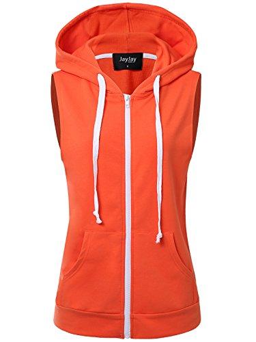Orange Athletic Vest - 4