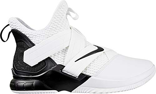 size 40 56097 64e5e Nike Zoom Lebron Soldier XII TB Basketball Shoes (M6.5 W8, White Black)