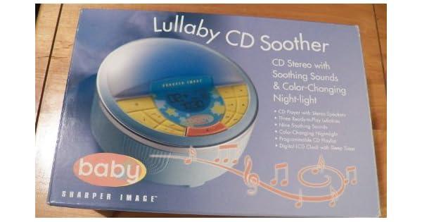 Amazon.com: Sharper Image Lullaby CD Chupete con sonidos y ...