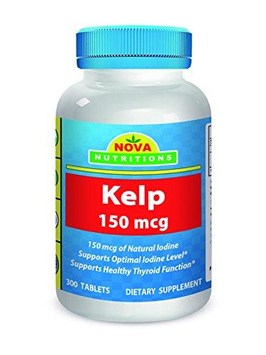Nova Nutritions Kelp 150 mcg 300 tablets