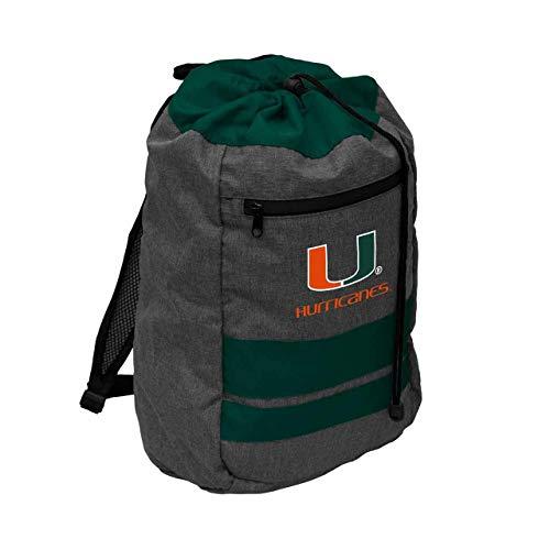 Logo Miami Hurricanes NCAA Journey Backsack - Green,