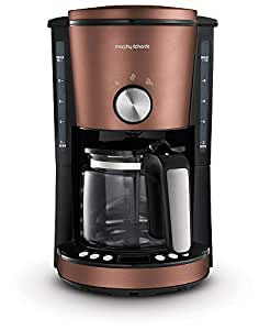 Morphy Richards Evoke Filtered Coffee Maker Evoke Filtered Coffee Maker, Bronze, 162523