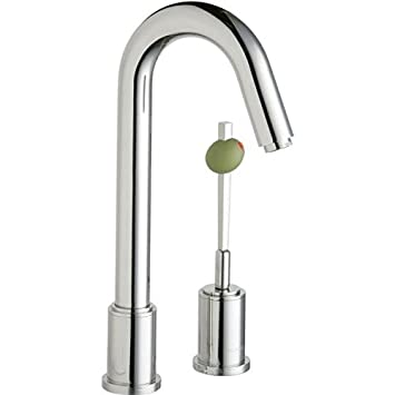elkay lkm7727pss ella martini polished bar faucet - Bar Sink Faucet