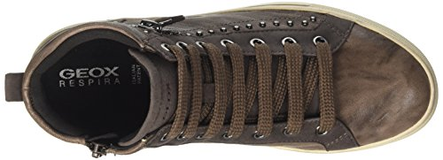 Hidence D Hautes A Geox Femme Sneakers fRpxg