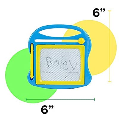 Boley 24 Piece Doodle Board Set – Magnetic Drawing Pad Set with Magnetic Drawing Pen – Educational Magic Doodle Erasable Writing Pad - Perfect for Classroom Supplies, Party Favors, or Party Supplies!: Toys & Games
