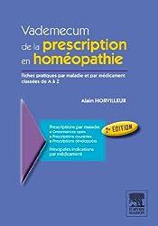 Vademecum de la prescription en homéopahtie