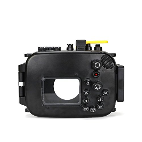 Seafrogs Waterproof case for Olympus TG-5, with Dome Port and Full Color Red Filter Kit, Underwater Camera Housing Case/ 60m/195ft, Apply to take Half Above Water Half Underwater Video/Pictures-Black by HolaFoto (Image #5)