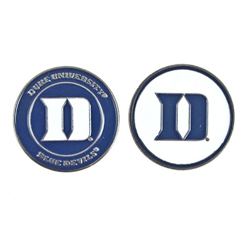 Duke Blue Devils Hat Clip - Duke Blue Devils Double-Sided Golf Ball Marker