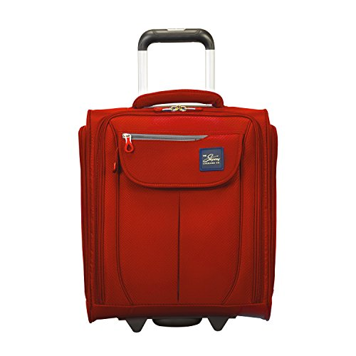 (Skyway Mirage 2.0 16-inch Under Seat Rolling Tote, True Red)