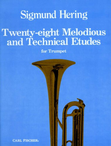 O4024 - Twenty-eight Melodies and Technical Etudes for Trumpet (German Edition)