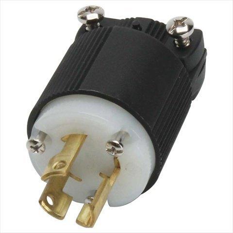 ARROW HART CWL1530P Plug, 30A, 250V, 3PH, 3POLE, 4WIRE, H/L, BW