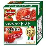 キッコーマン 完熟カットトマト 300g紙パック×12個入×(2ケース)