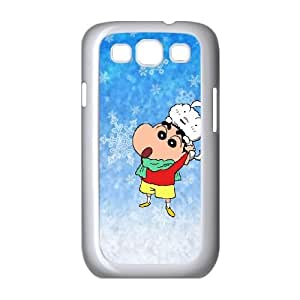Crayon Shin-chan Samsung Galaxy S3 9300 Cell Phone Case White LMS3900269