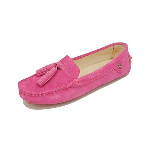 Minitoo - Sandalias con cuña mujer rosa (b)