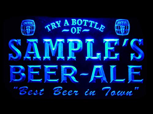 (ADVPRO pn-tm Name Personalized Custom Best Beer Ale Home Bar Pub Neon Sign )