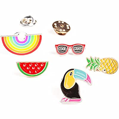 Partyfareast Cute Brooch Pin Set for Backpack/Clothes/Bags