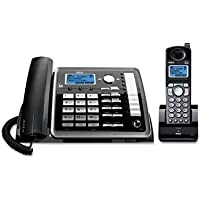RCA25255RE2 - RCA ViSYS 25255RE2 Two-Line Corded/Cordless Phone System with Answering System