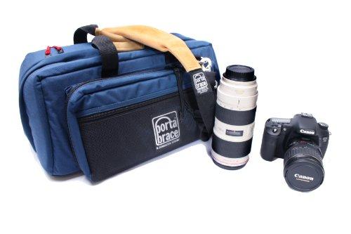 PortaBrace CS-DC3U Large DSLR Camera Bag - Blue by PortaBrace