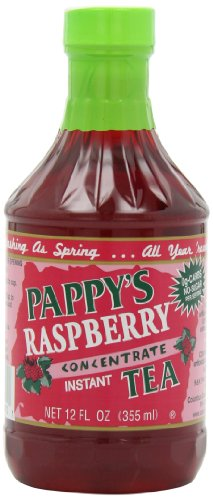 Pappy's Raspberry Tea Concentrate, 12-Ounce (Pack of 6) ()
