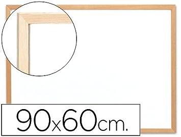 Pizarra blanca de melamina Q-Connect 90x60 cm