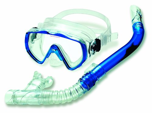 Aviator Swim Mask - Swimline Thermotech Sea Searcher Mask and Snorkel Set