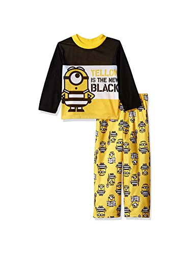 Despicable Me 3 Minions Boys Long Sleeve Pajamas Set (Little Kid/Big Kid) -