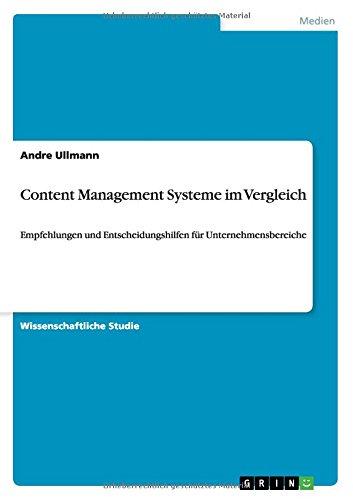 Content Management Systeme im Vergleich (German Edition)
