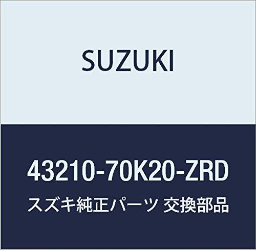 SUZUKI (スズキ) 純正部品 ホイール アルミ(14X4 1/2J)(シルバー) ワゴンR/ワイドプラスソリオ 品番43210-70K20-ZRD B01M08KWNP