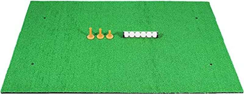 GolfStyle 골프 연습 매트 스윙 드라이버 대형 SBR 100×150cm