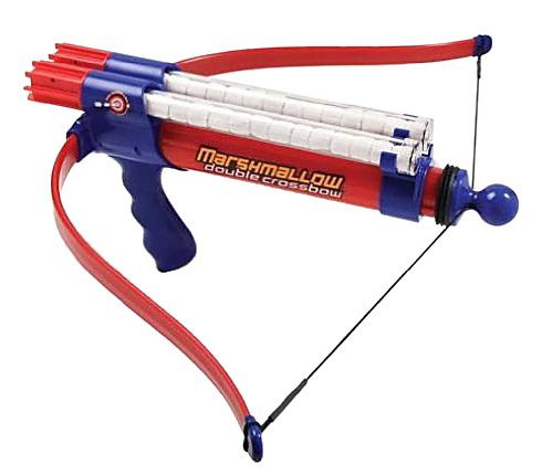 Marshmallow Double Barrel Crossbow Shooter -