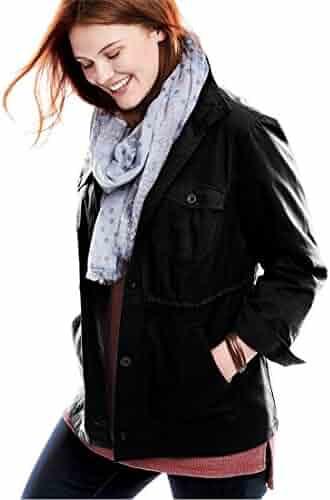 20acdcd5fee3c Woman Within Plus Size Sport Twill Utility Jacket