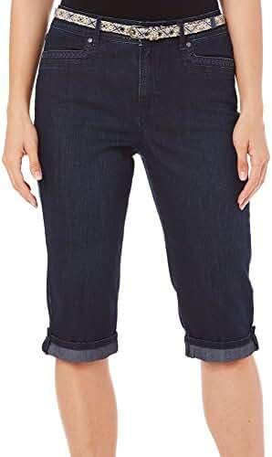 Gloria Vanderbilt Womens Marnie Denim Shorts