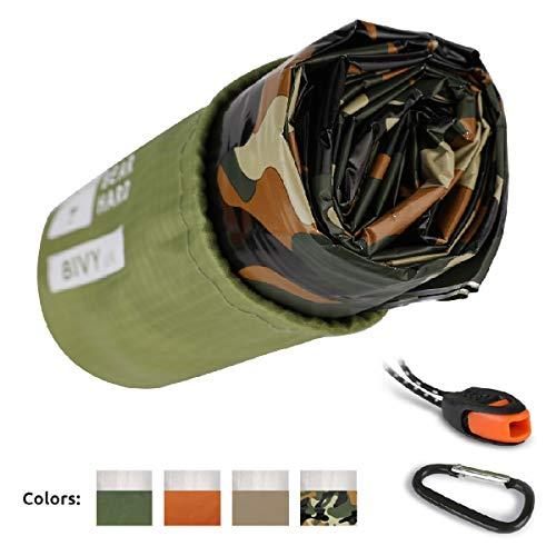 Bearhard Emergency Sleeping Bag Emergency Bivy Sack Ultralight Waterproof Thermal