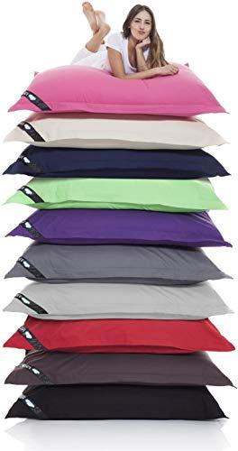 Lazy Bag Chaise de Sac à Haricots géants XXL Grand Sac à Haricots en Coton d'intérieur 400L Chaise de Coussin de siège à Haricots géants pour Enfants et Adultes 180 x 140cm