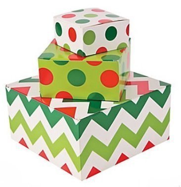Christmas Fun Box - 12pc Christmas Gift Box Assortment (One Dozen)
