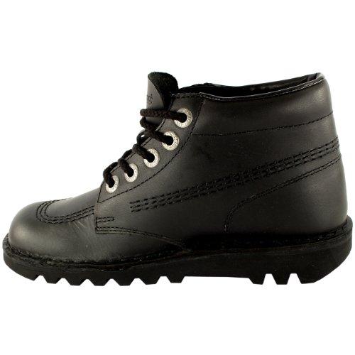 Femmes Bureau Travail Hi Cuir Marine Kickers Chaussure Classique Bottines Kick rwqP7rxva
