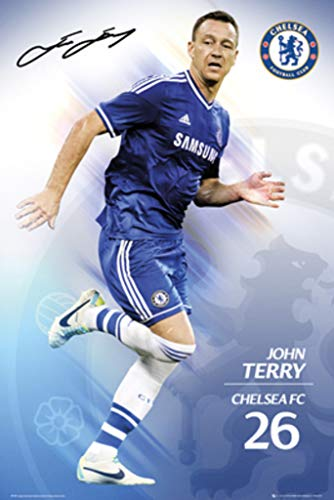 GB Eye Limited Chelsea FC John Terry 2013 2014 Soccer Football Sports Poster 24x36 inch ()