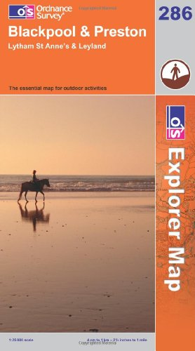 Exp 286 Blackpool & Preston (Explorer Maps) (OS Explorer Map)