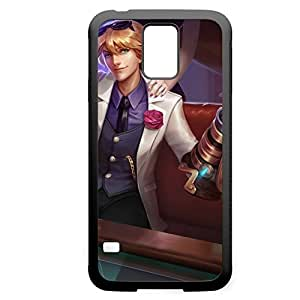 Ezreal-006 League of Legends LoL For Case Samsung Galaxy S4 I9500 Cover - Hard Black