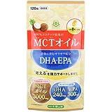 仙台勝山館MCTオイル+DHA・EPAサプリメント(120粒)
