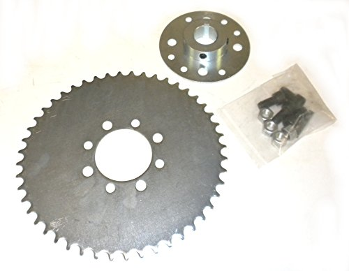 Teeth Sprocket - Go Kart Sprocket & Hub for 1