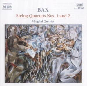 Bax: String Quartets 1, 2 by Maggini Quartet : Maggini Quartet ...
