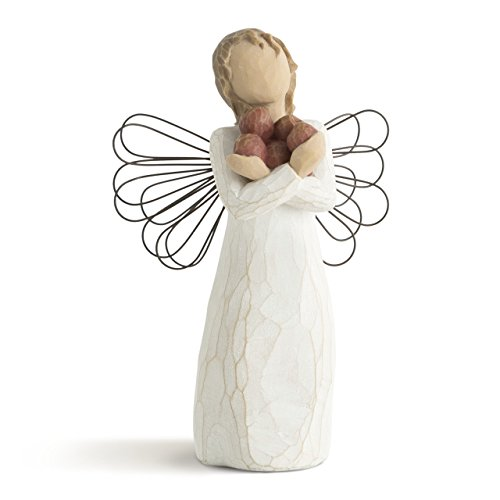 Willow Tree hand-painted sculpted angel, Good Health -
