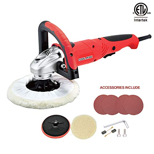 Lion Tools DB5903 Toolman Compact Polishing Buffer Waxer Sander Machine 7