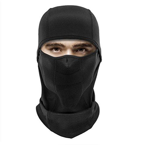 [Balaclava Windproof Ski Face Mask, Anti-dust& Adjustable Head Hood for Women& Men in Skiing Motorcycling Snowboarding Winter Outdoor] (Ski Costumes)