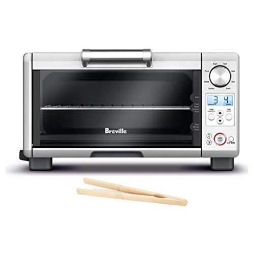 Breville Mini Smart Oven with Element IQ and Free Bamboo Toast Tongs (Breville Toast Oven compare prices)