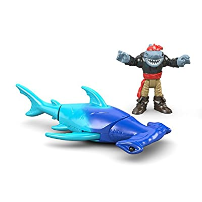 Fisher-Price Imaginext Hammerhead Shark: Toys & Games